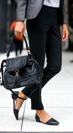 d'Orsay flats black