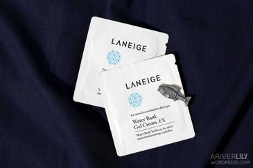 Laneige Water Bank Gel EX samples