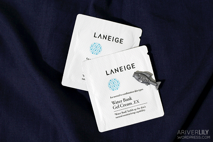 Laneige Water Bank Gel EX samples