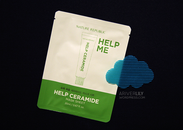Nature Republic Help Me Ceramide Sheet Mask