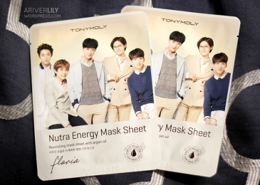 TonyMoly Floria Nutra Energy Mask Sheet with argan oil