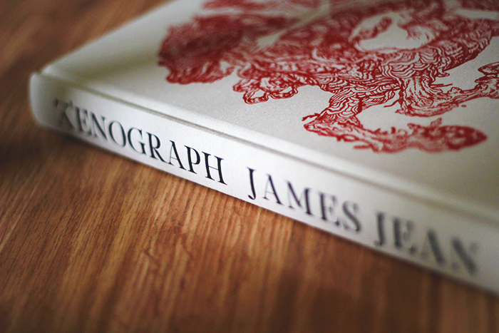 XENOGRAPH by James Jean - spine