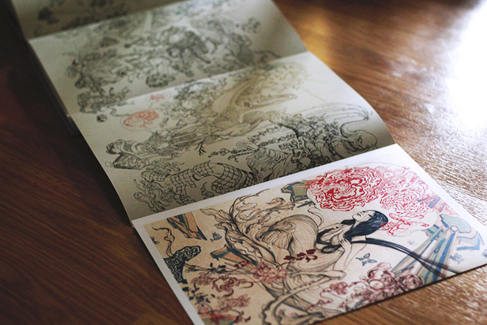 XENOGRAPH by James Jean - gatefold