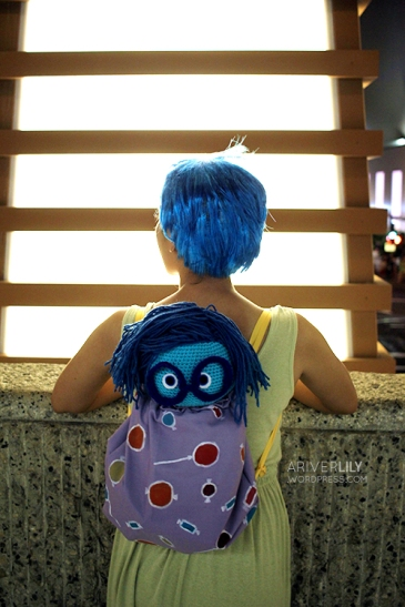 Halloween in Waikiki - Joy Sadness Fear Inside Out costume cosplay