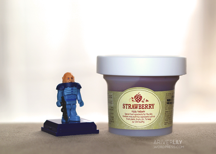 Skinfood Black Sugar Strawberry Mask Wash-Off review - Sontaran