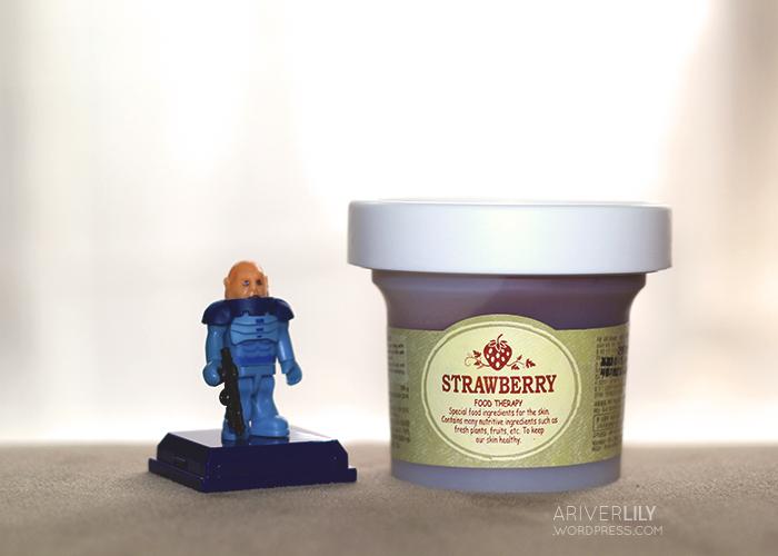 Skinfood Black Sugar Strawberry Mask Wash-Off review - Sontaran