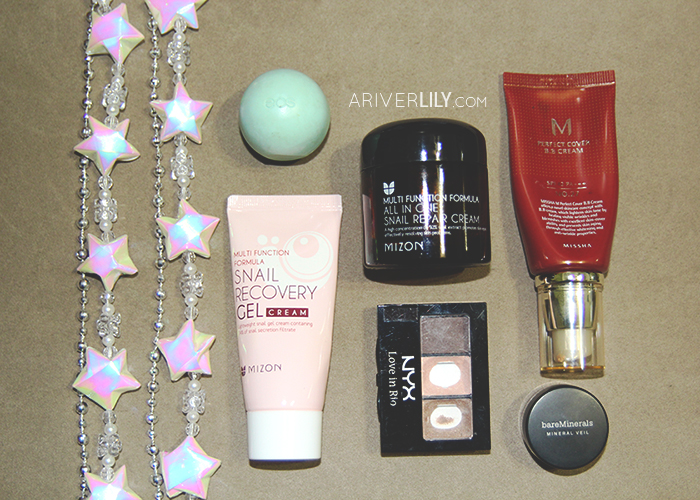 Empties, Pans, Retired - Mizon, Missha, NYX, Eos, bareminerals