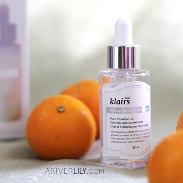 Dear Klairs Freshly Juiced Vitamin Drop Vitamin C Serum review - dropper