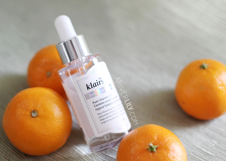 Dear Klairs Freshly Juiced Vitamin Drop Vitamin C Serum review - bottle