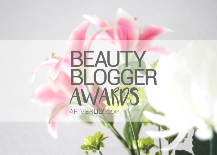 Beauty Blogger Award - Asian skincare kbeauty japanese beauty korean nomination nominate tag fun