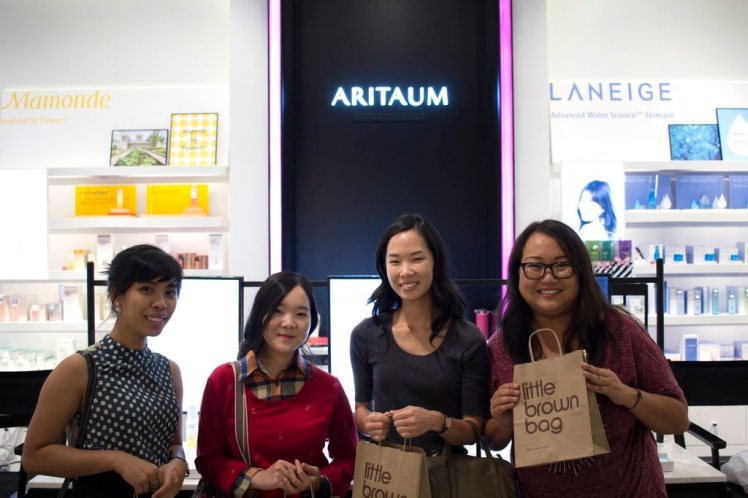 Asian Beauty Reddit meetup Korean beauty kbeauty skincare blogger bloggers makeup Japanese jbeauty meet up - Aritaum Bloomingdale's little brown bag sheet mask Sulwhasoo Iope Laneige