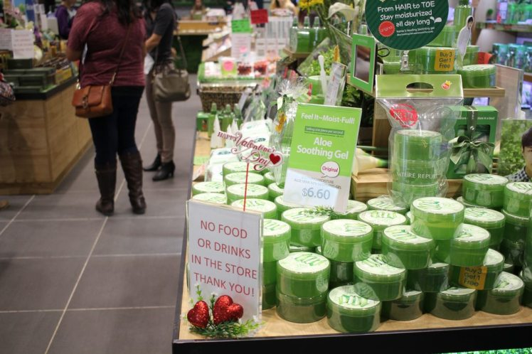 Asian Beauty Reddit meetup Korean beauty kbeauty skincare blogger bloggers makeup Japanese jbeauty meet up - Nature Republic aloe gel tub cheap