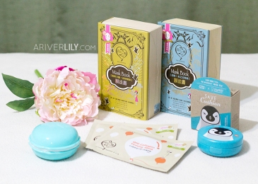 Yesstyle mini beauty haul - My Scheming, Etude House, Macaron, sheet mask masks cushion Taiwanese beauty kbeauty korean makeup skincare flower chrysanthemum review post