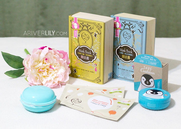 Yesstyle mini beauty haul - My Scheming, Etude House, Macaron, sheet mask masks cushion Taiwanese beauty kbeauty korean flower peony peonies review post