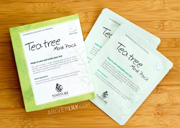 Naisture Tea Tree Mask Pack sheet mask review - boxes