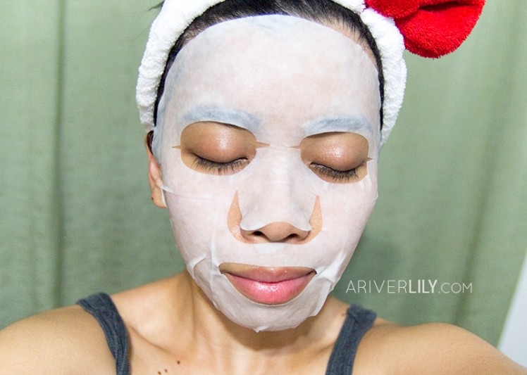 Naisture Tea Tree Mask Pack sheet mask review - cotton fit