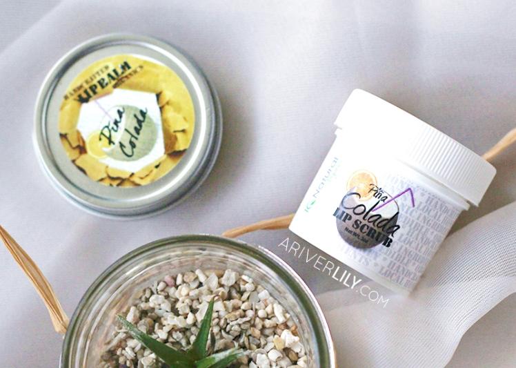 IQ Natural Skincare Lip Care Kit Balm Scrub Organic Honey Pina Colada Pineapple Flavor - air plant tillandsia