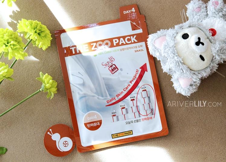skin18 zoo pack sheet mask review horse oil goat donkey milk snail mucin mucus korean skincare asian beauty moisturizing firming brightening elasticity